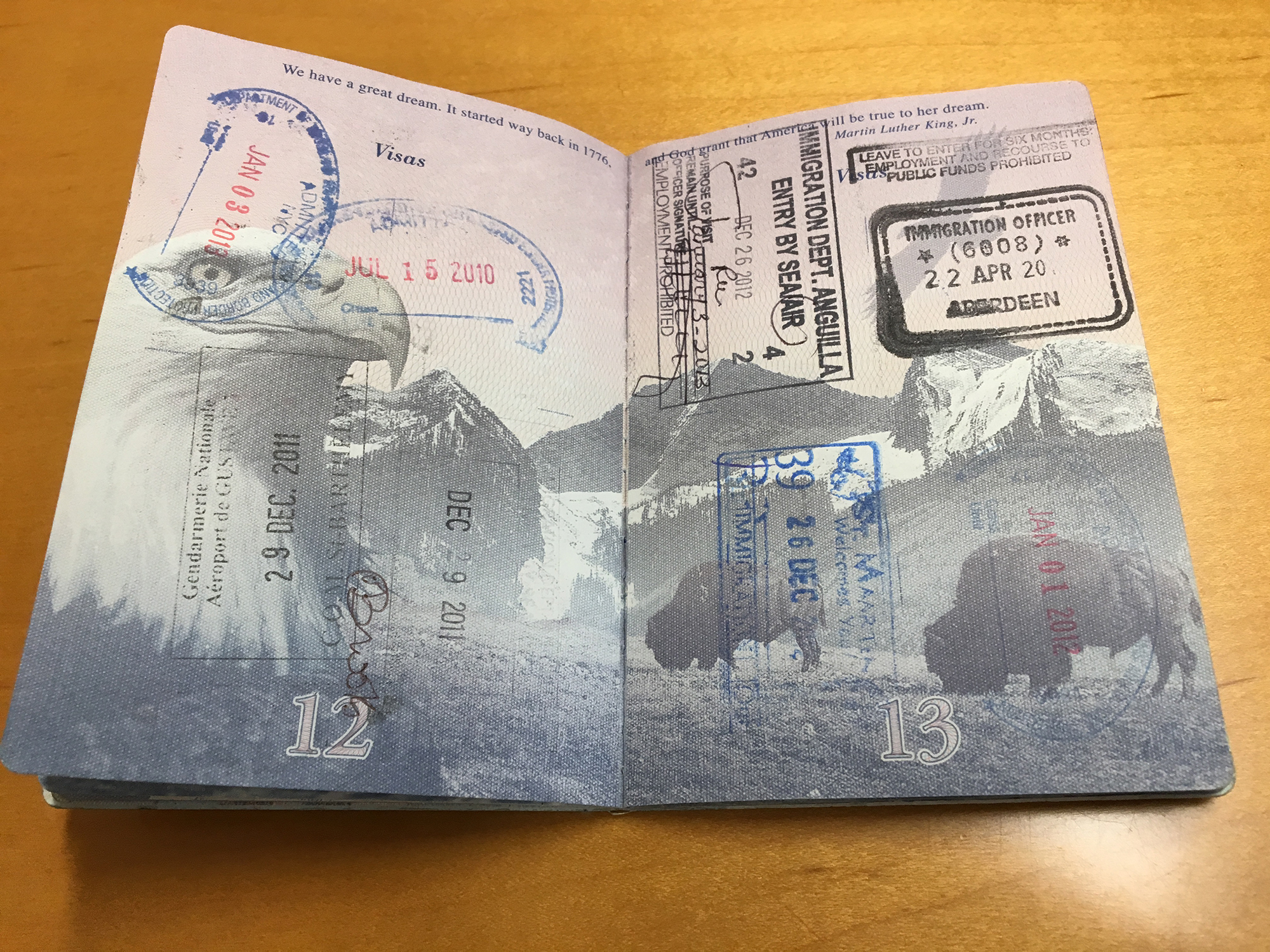 This Is The Inside Of Trump's Lawyer's Passport